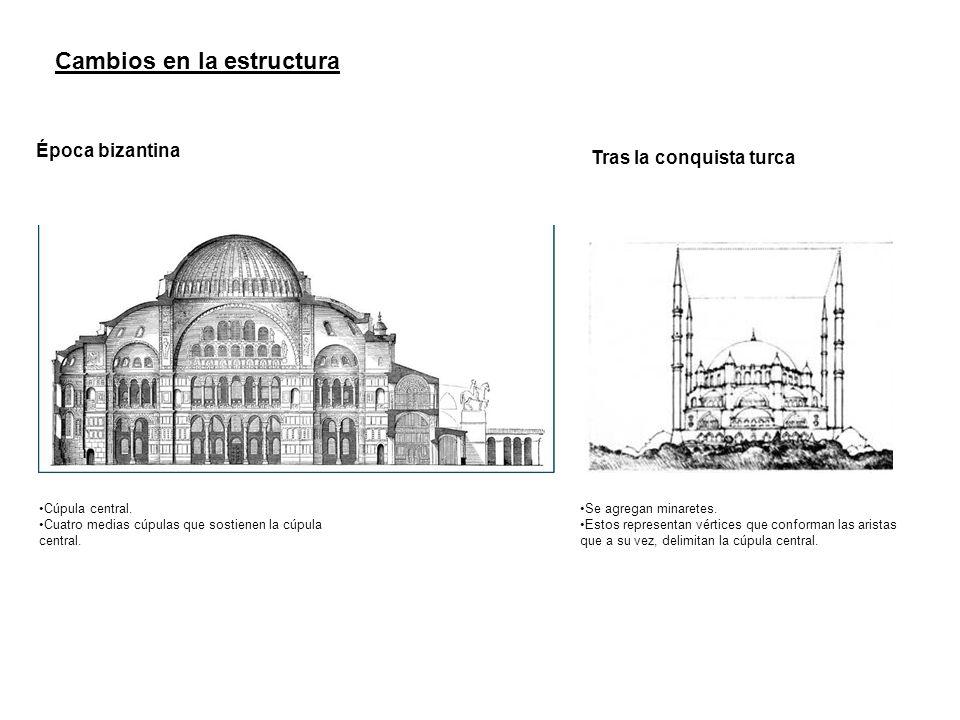 Cambios en la estructura