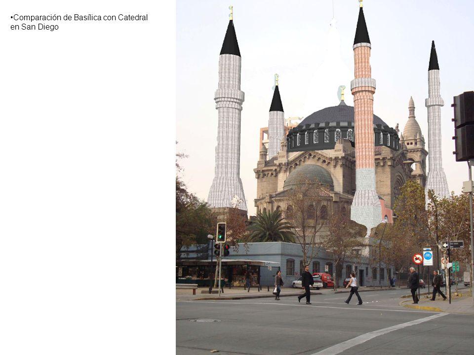 Comparación de Basílica con Catedral