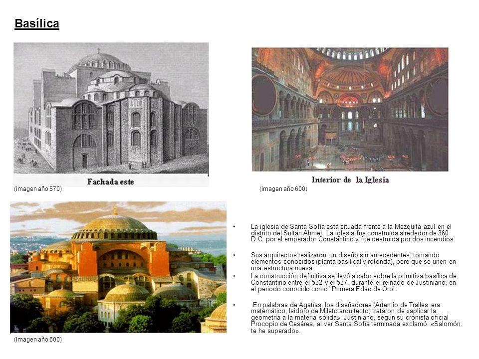 Basílica(imagen año 570) (imagen año 600)