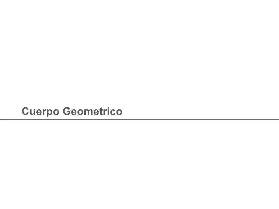 Cuerpo Geometrico