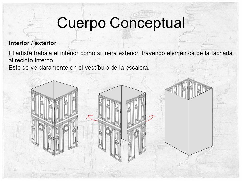 Cuerpo Conceptual Interior / exterior