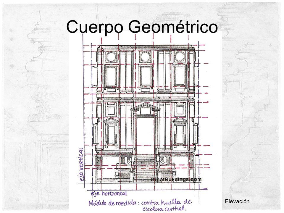 Cuerpo Geométrico Elevación