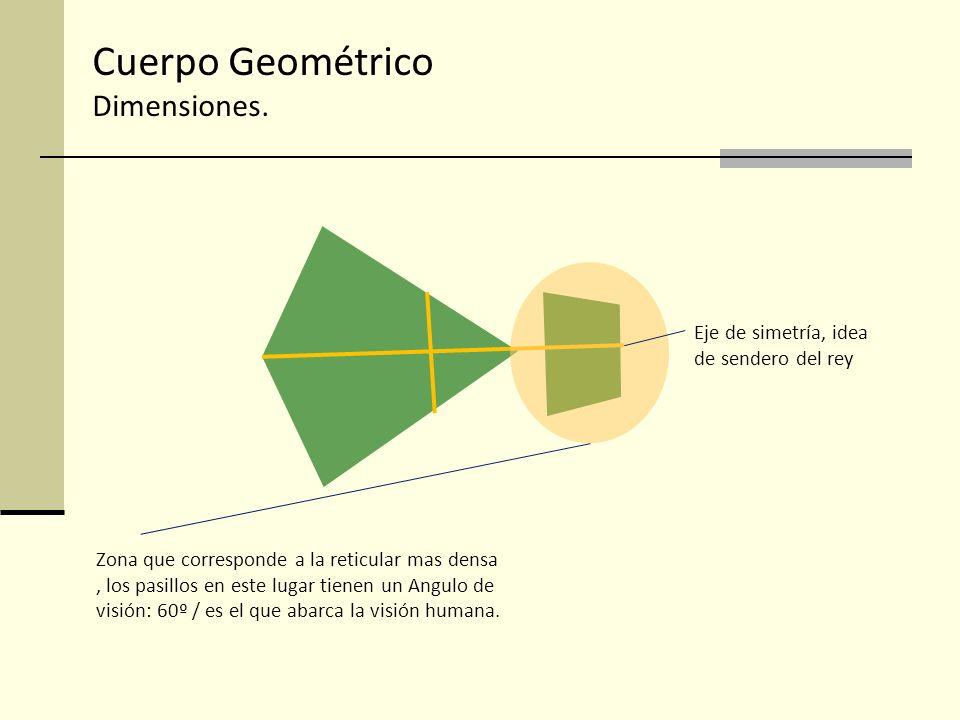 Cuerpo Geométrico Dimensiones.