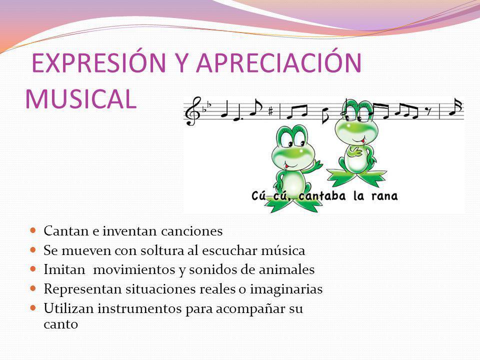 EXPRESIÓN Y APRECIACIÓN MUSICAL