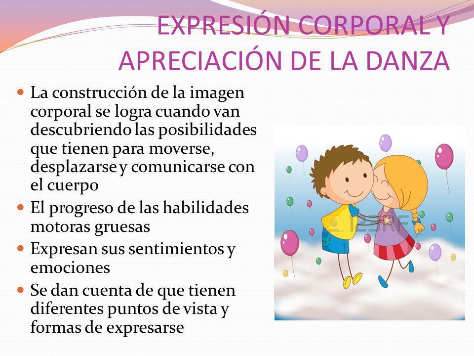 EXPRESIÓN CORPORAL Y APRECIACIÓN DE LA DANZA