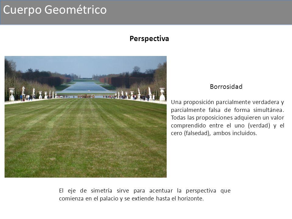 Cuerpo Geométrico Perspectiva Borrosidad