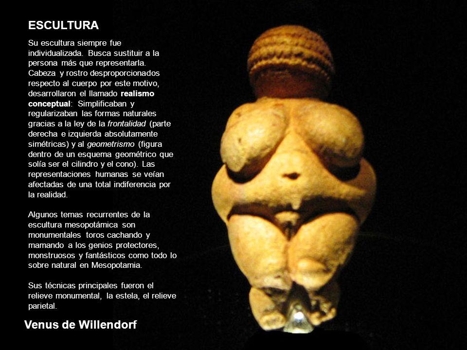 ESCULTURA Venus de Willendorf