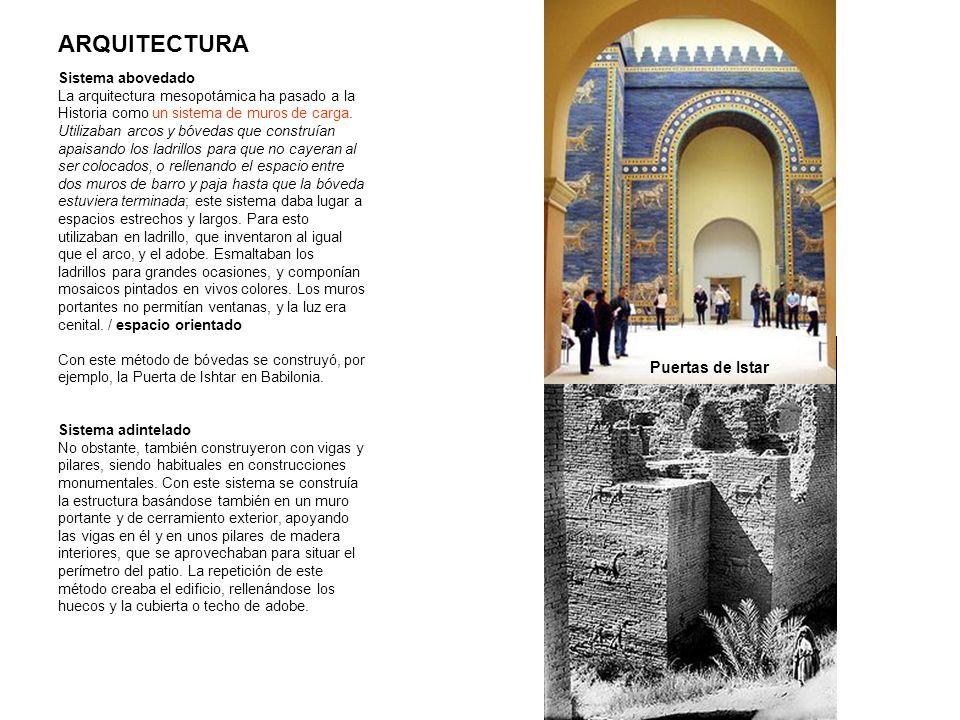 ARQUITECTURA Puertas de Istar Sistema abovedado