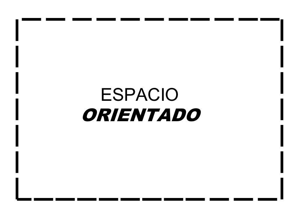 ESPACIO ORIENTADO