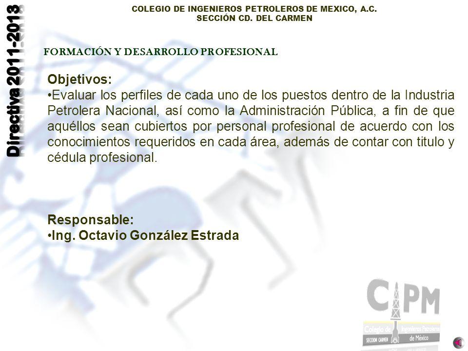 Ing. Octavio González Estrada