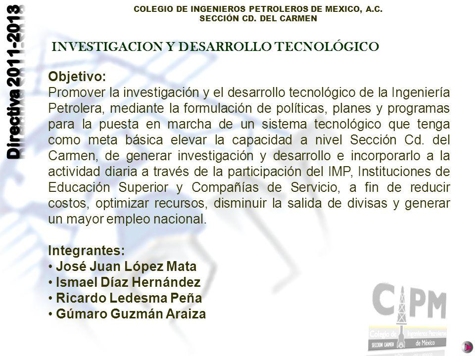 INVESTIGACION Y DESARROLLO TECNOLÓGICO
