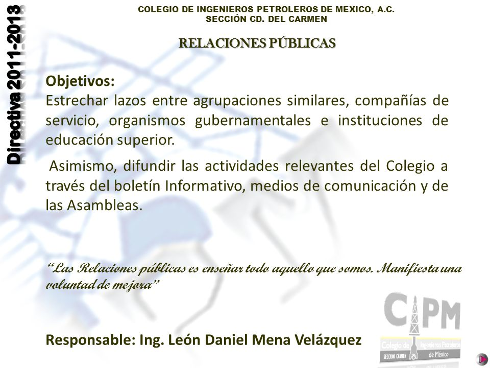 Responsable: Ing. León Daniel Mena Velázquez