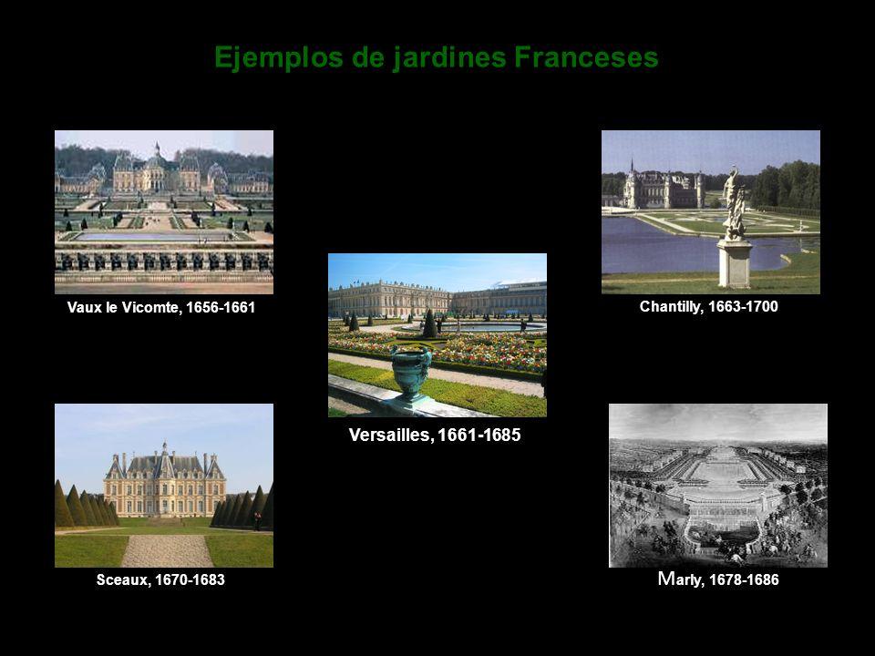 Ejemplos de jardines Franceses