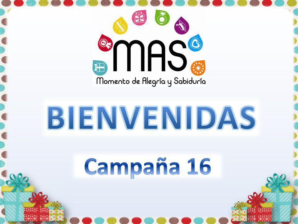 BIENVENIDAS Campaña 16