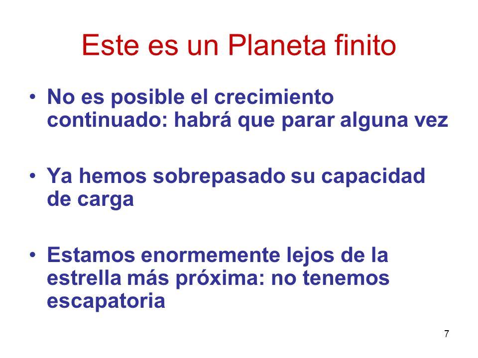 Este es un Planeta finito
