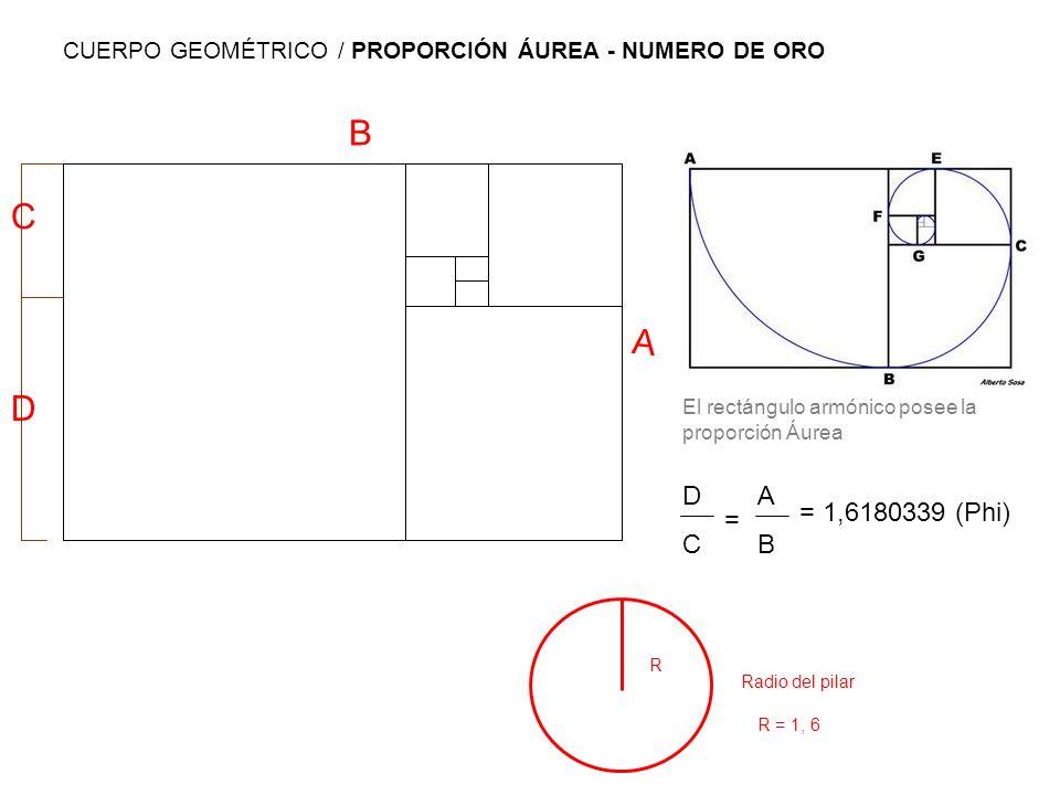 CUERPO GEOMÉTRICO / PROPORCIÓN ÁUREA - NUMERO DE ORO