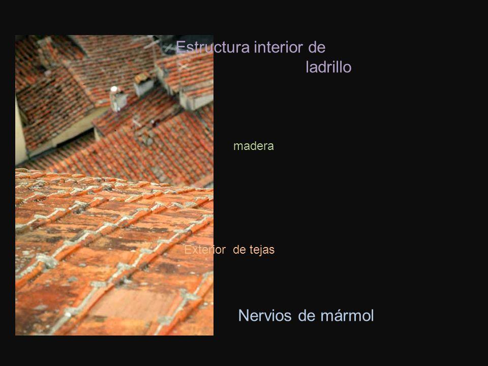 Estructura interior de ladrillo