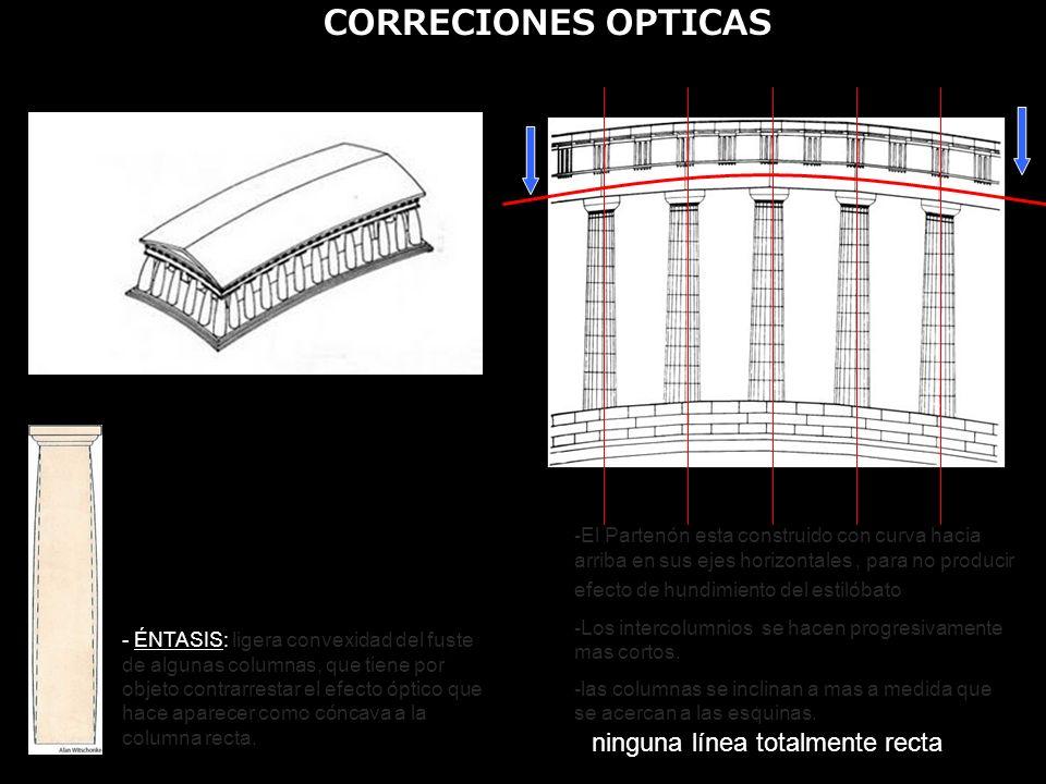 CORRECIONES OPTICAS ninguna línea totalmente recta