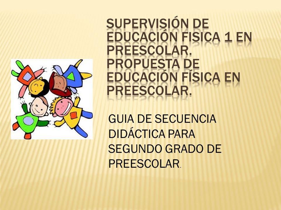 SUPERVISIÓN DE EDUCACIÓN FISICA 1 en preescolar