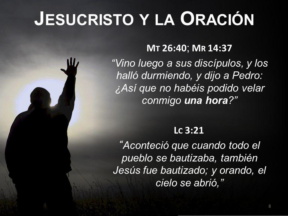 Jesucristo y la Oración