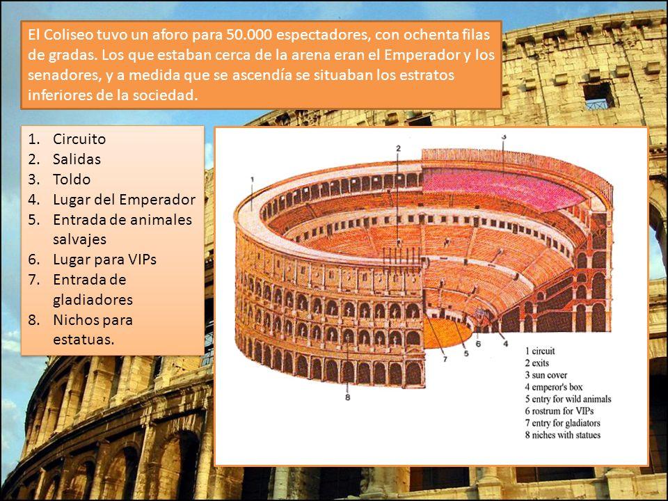 El Coliseo tuvo un aforo para 50