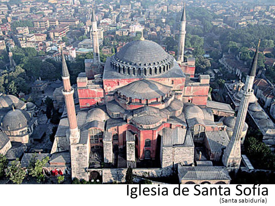 Sofi Iglesia de Santa Sofía (Santa sabiduría)
