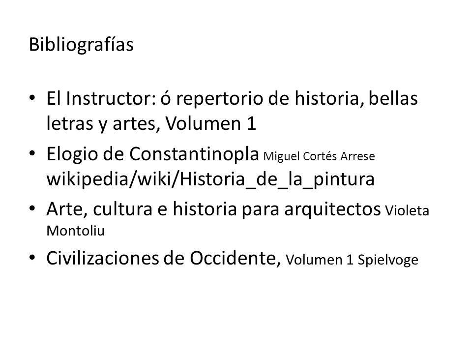 Bibliografías El Instructor: ó repertorio de historia, bellas letras y artes, Volumen 1.
