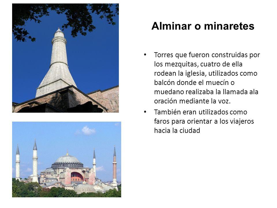 Alminar o minaretes