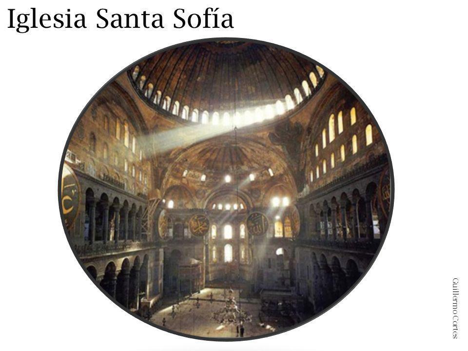 Iglesia Santa Sofía Guillermo Cortes