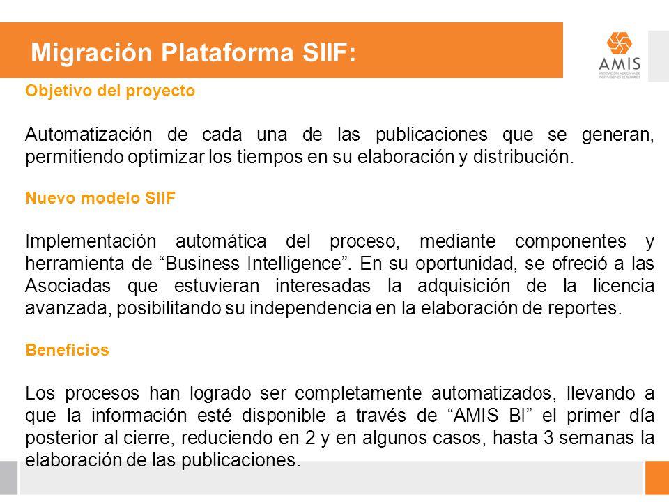 Migración Plataforma SIIF: