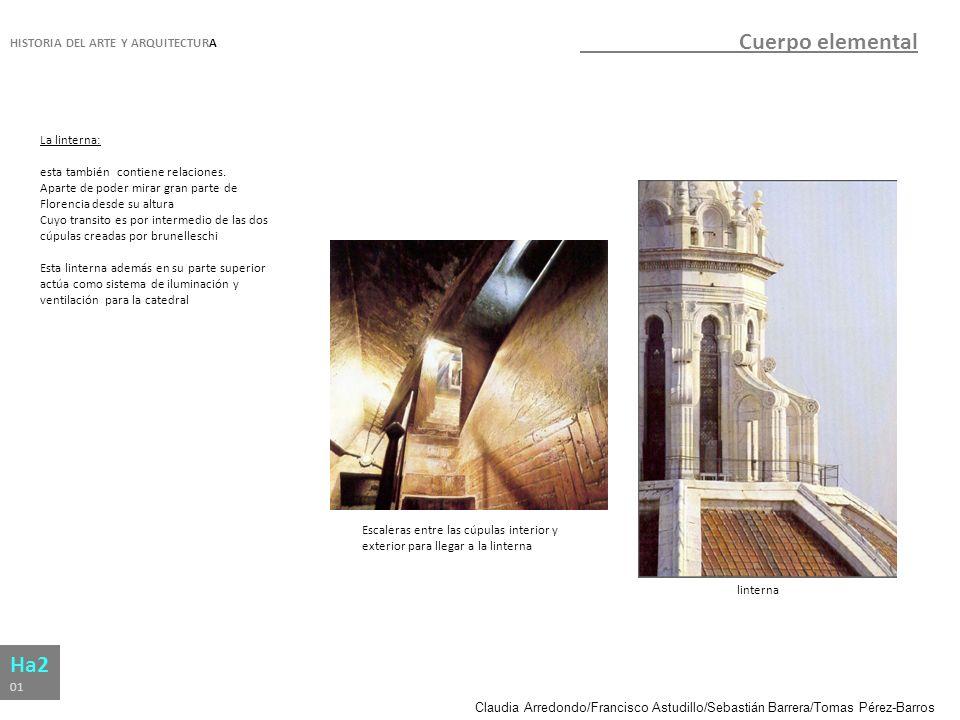 Cuerpo elemental Ha2 HISTORIA DEL ARTE Y ARQUITECTURA La linterna: