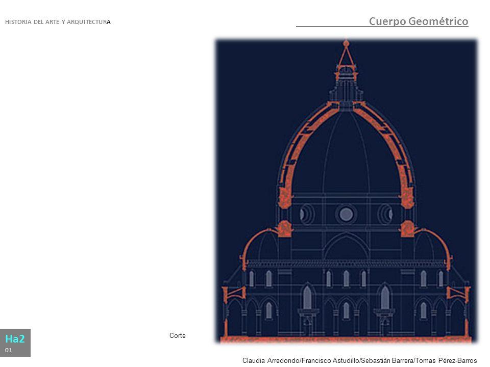Cuerpo Geométrico Ha2 HISTORIA DEL ARTE Y ARQUITECTURA Corte 01