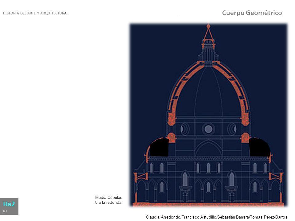 Cuerpo Geométrico Ha2 HISTORIA DEL ARTE Y ARQUITECTURA Media Cúpulas