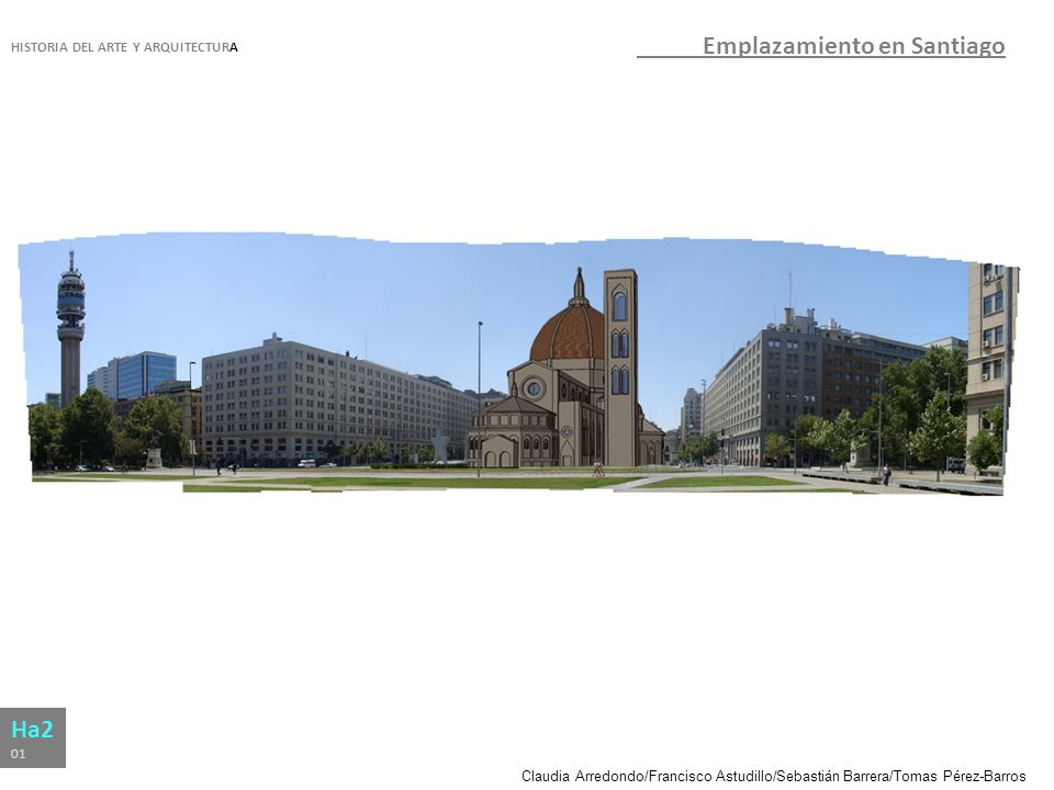 Emplazamiento en Santiago