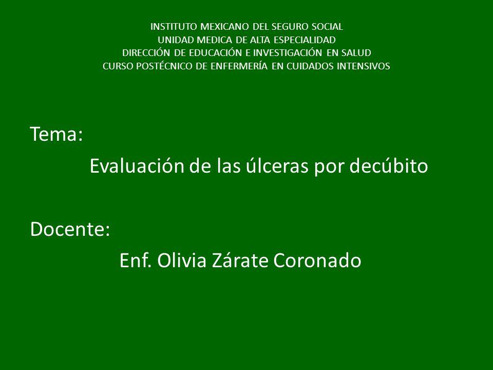 INSTITUTO MEXICANO DEL SEGURO SOCIAL UNIDAD MEDICA DE ALTA ESPECIALIDAD DIRECCIÓN DE EDUCACIÓN E INVESTIGACIÓN EN SALUD CURSO POSTÉCNICO DE ENFERMERÍA EN CUIDADOS INTENSIVOS