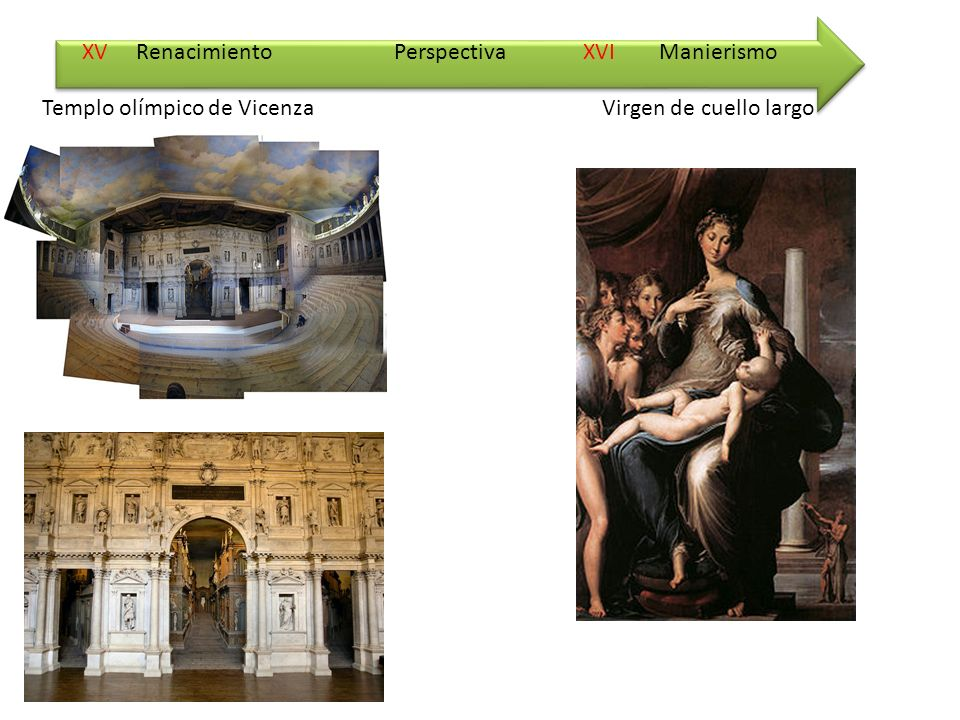 XV Renacimiento XVI Manierismo