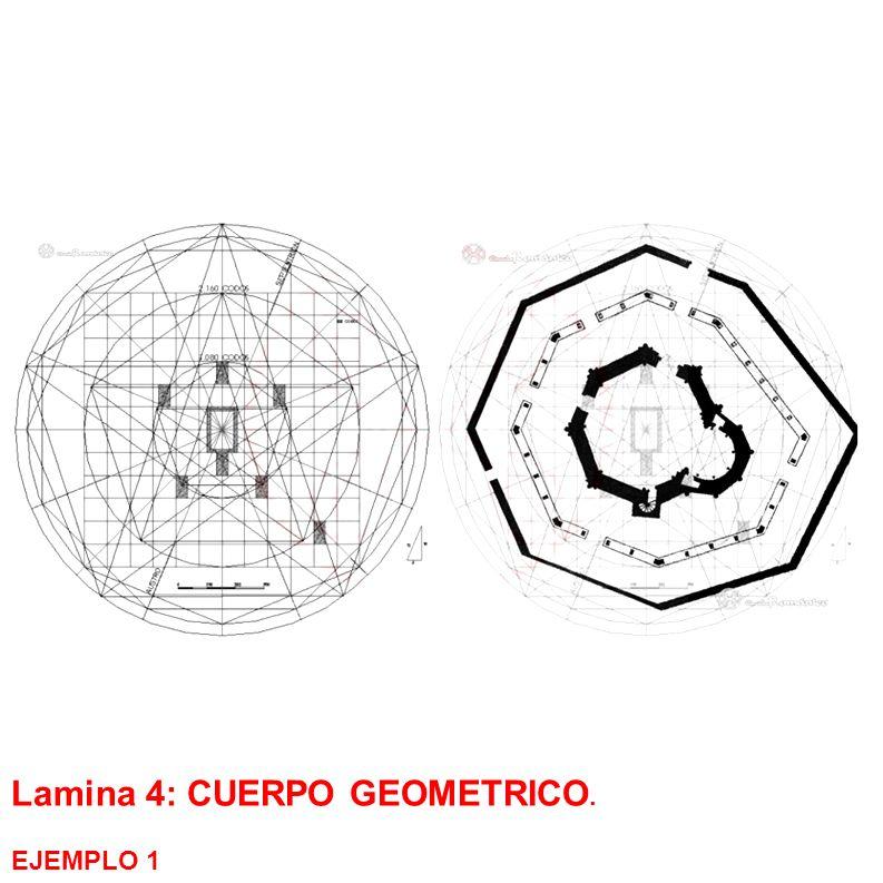 Lamina 4: CUERPO GEOMETRICO.