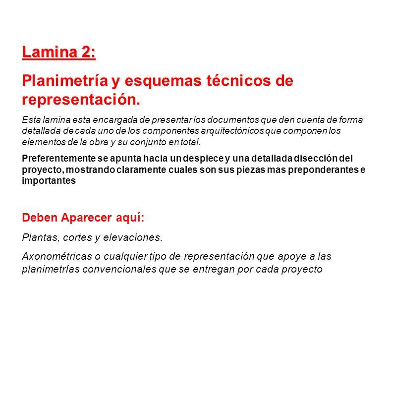 Planimetría y esquemas técnicos de representación.