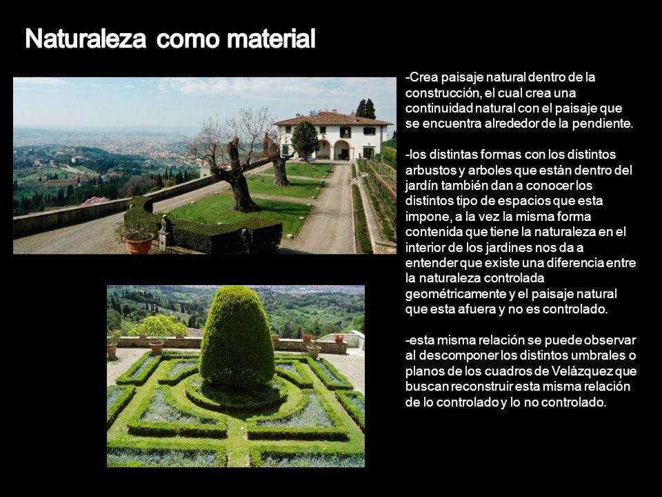 Naturaleza como material