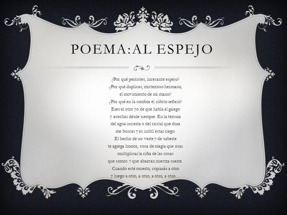 Poema:al espejo