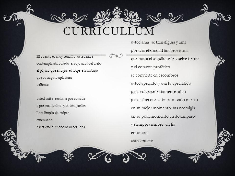 Curricullum