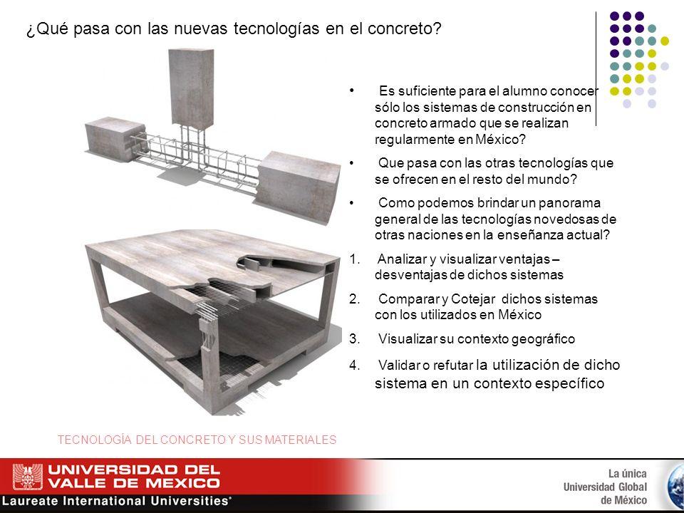 ¿Qué pasa con las nuevas tecnologías en el concreto