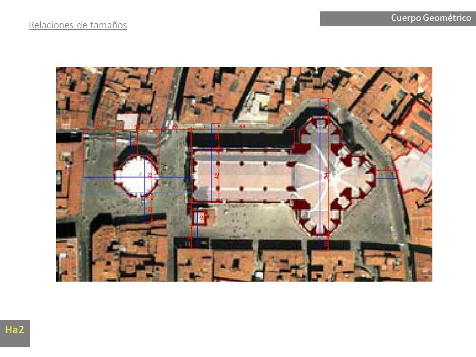 Cuerpo Geométrico Relaciones de tamaños Ha2