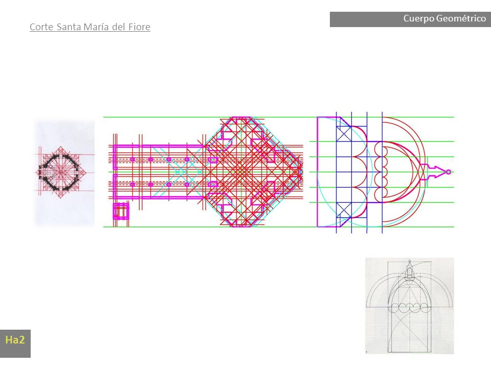 Cuerpo Geométrico Corte Santa María del Fiore Ha2