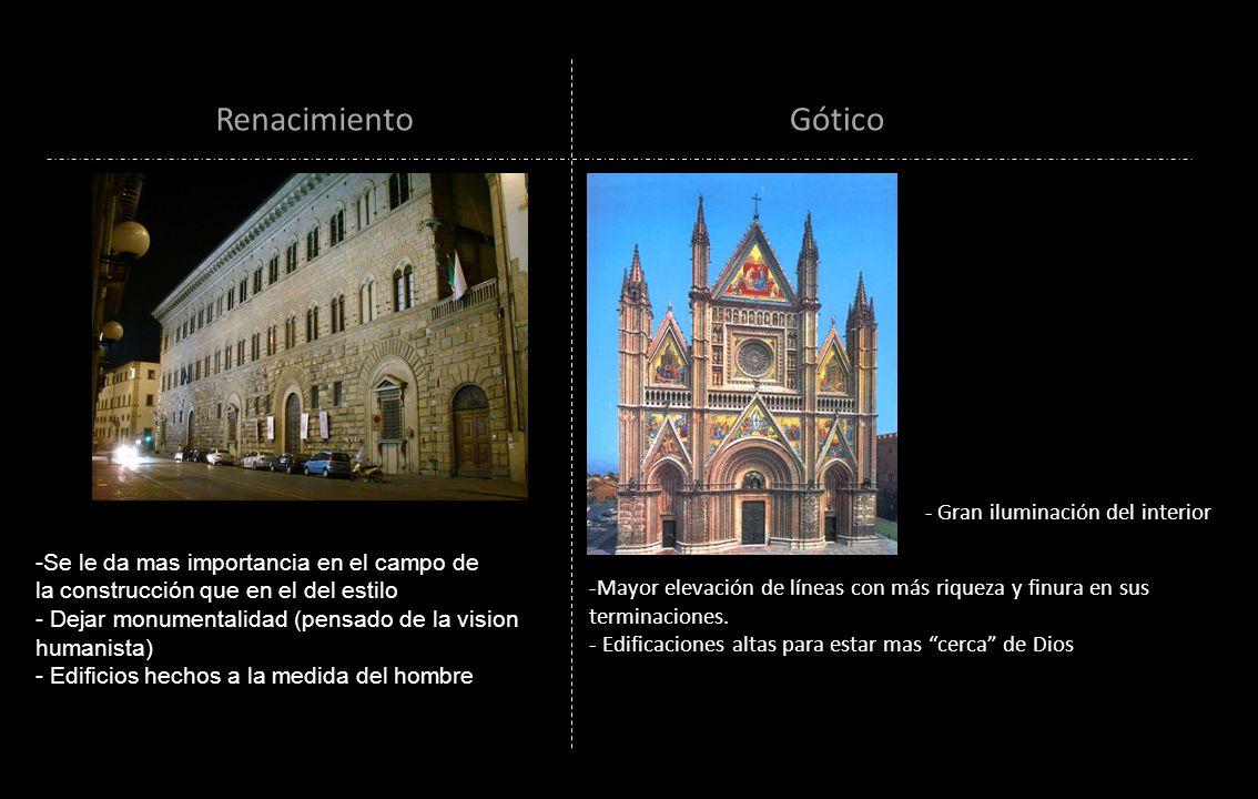 Renacimiento Gótico - Gran iluminación del interior