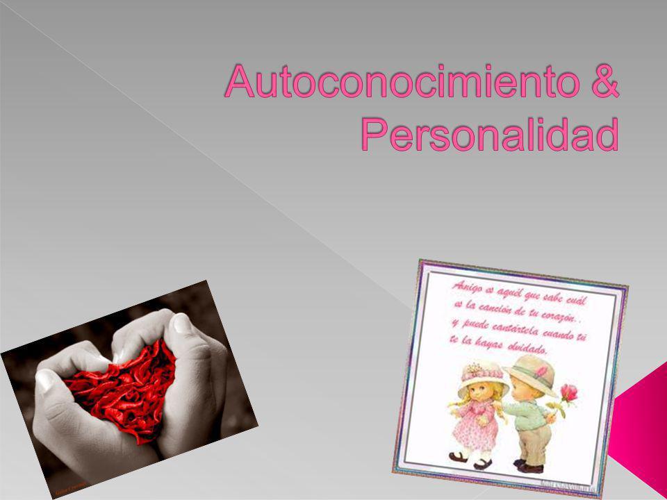Autoconocimiento & Personalidad