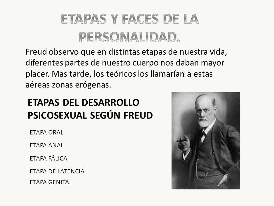 ETAPAS Y FACES DE LA PERSONALIDAD.