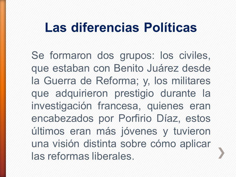 Las diferencias Políticas