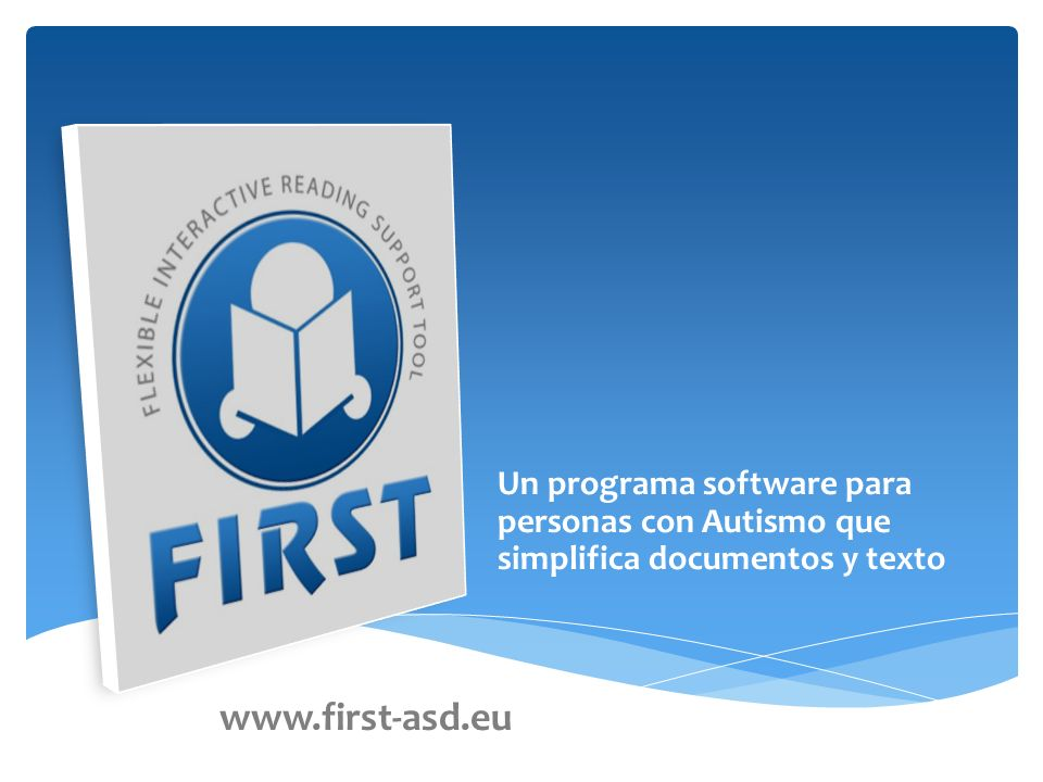 Un programa software para personas con Autismo que simplifica documentos y texto