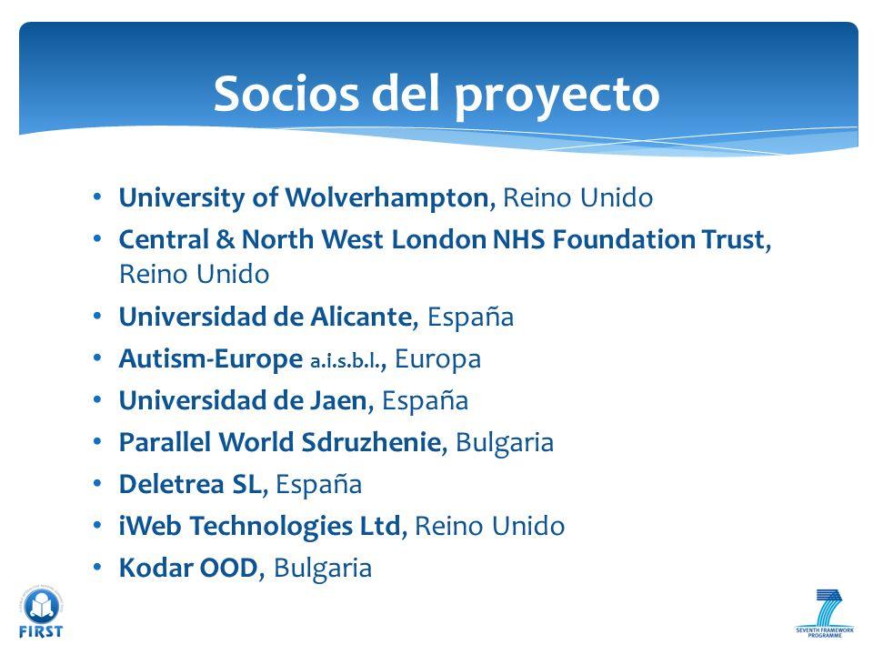 Socios del proyecto University of Wolverhampton, Reino Unido